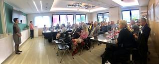Estonska delegacija na delovnem obisku v CČN Domžale - Kamnik
