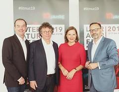4 people looking forward to #litmuc19! :smiley::grinning::smile::grin: Michael Then I Ingo Schulze I Tanja Graf I Anton Biebl 13.11. bis 01.12.2019 https://ift.tt/1PwlmAo #forumautoren #münchnerbücherschau @lithaus #dieweltnach89 #einübungeninsparadies