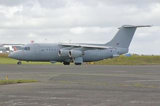 Royal Air Force BAe 146 ZE707