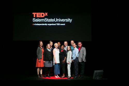 TEDxSalemStateUniversity_2019_Speakers and Provost 5