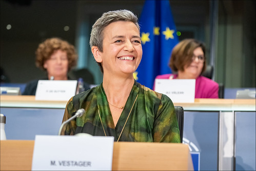 Hearings of Margrethe Vestager  🇩🇰 , vice president-designate for a Europe fit for the digital age | by European Parliament