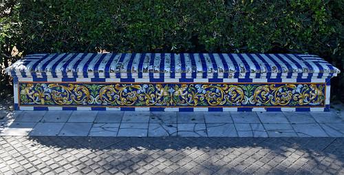 Jardines de la Alameda Marqués de Comillas, Cádiz - 24 Sep 2019