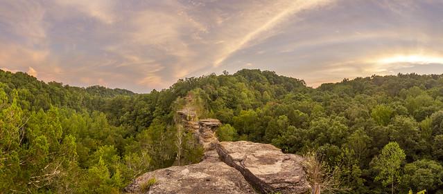 Overlook, Window Cliffs, Putnam County, Tennessee 3