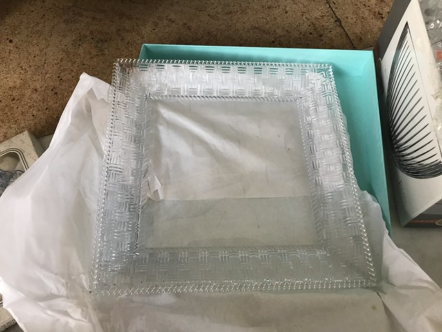 Tiffany crystal plate