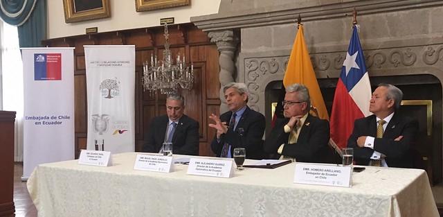 Seminario Diplomacia 2030 Prospectiva Política y Cooperación Regional - Ecuador
