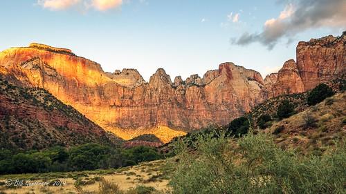 towersofthevirgin utah zionnationalpark springdale unitedstatesofamerica westtemple historymuseum landscape sunrise