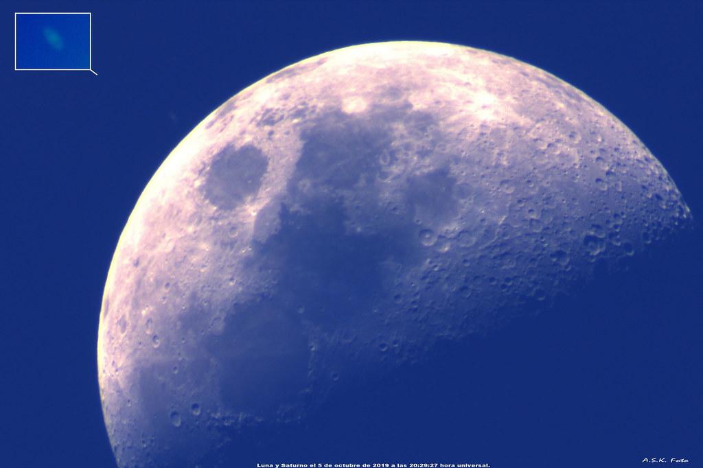 Luna y Saturno diurnos.