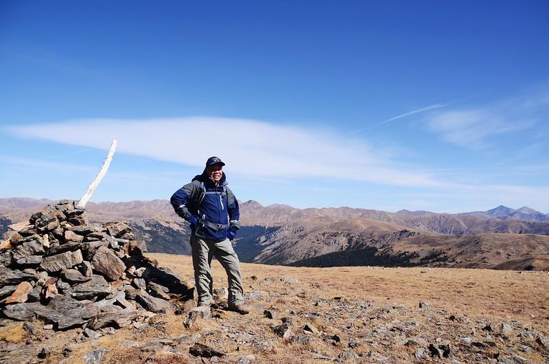 Taken from the summit of Ptarmigan Peak (1)