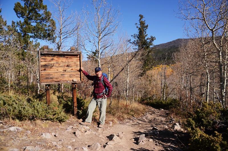 Ptarmigan Peak Wilderness Information Board (2)