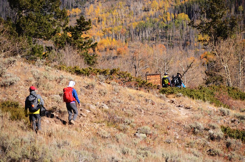 Ptarmigan Peak Wilderness Information Board (1)
