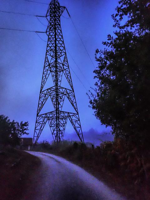 Camino English Way electron path