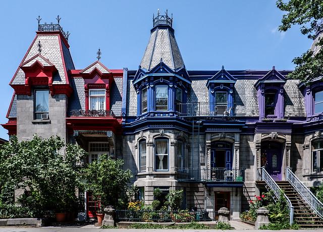 Maisons Victoriennes de Square Saint-Louis