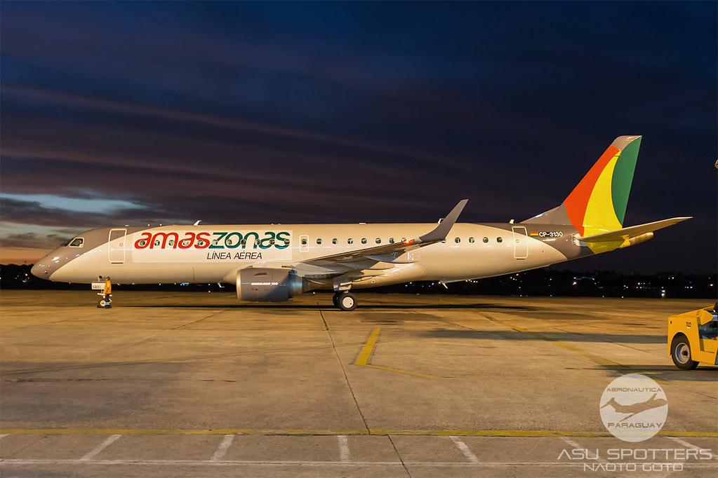 ERJ190 de Amaszonas Bolivia
