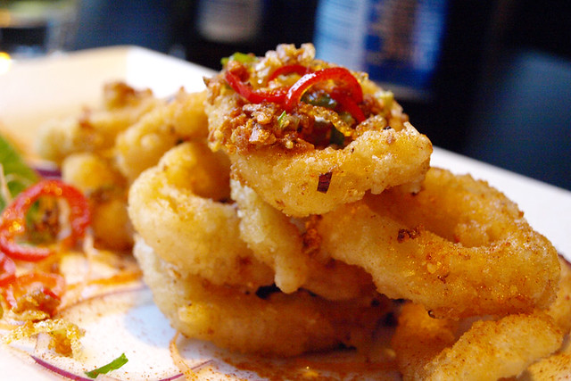 Salt n pepper squid, Glasgow