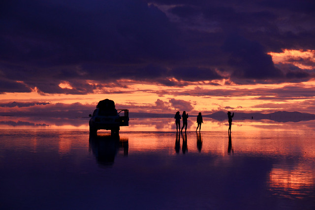 Lever de soleil Salar d'Uyuni / Sunrise _3947