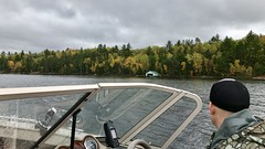 Boating in Voyageurs National Park