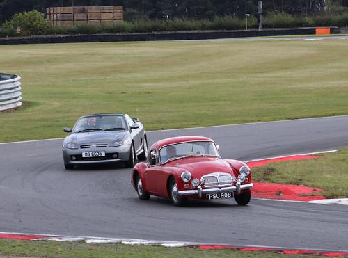 MG Car Club Parade Laps