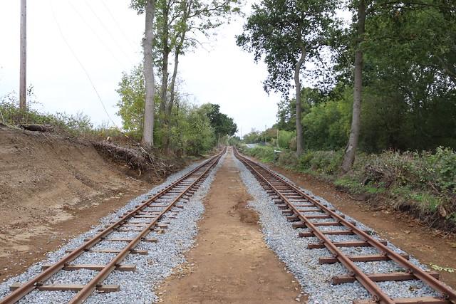 Narrow Gauge Tracks To Mundays Hill