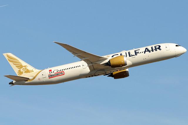 A9C-FD - Boeing 787-9 Dreamliner - Gulf Air 🇧🇭 @ LHR