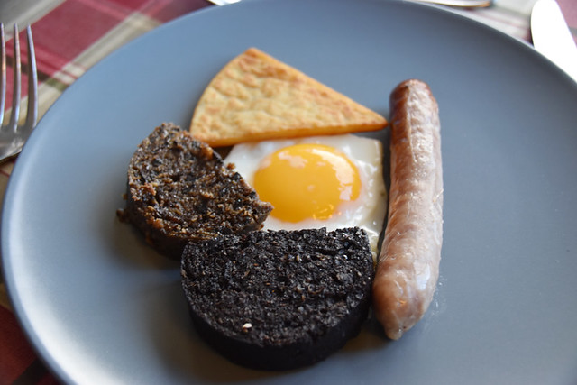 Black pudding, Scotland
