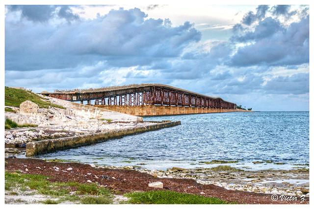 Abandoned Bridge, Big Pine Key Florida -37