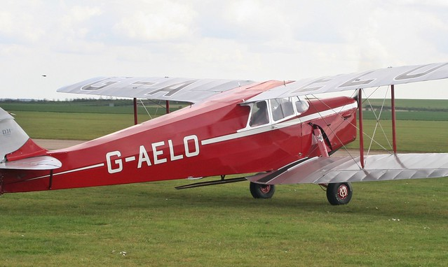 de Havilland DH87B Hornet Moth