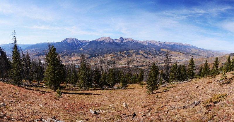 Looking west at Gore Range from Ptarmigan Peak Trail near 11,214 ft  (2)