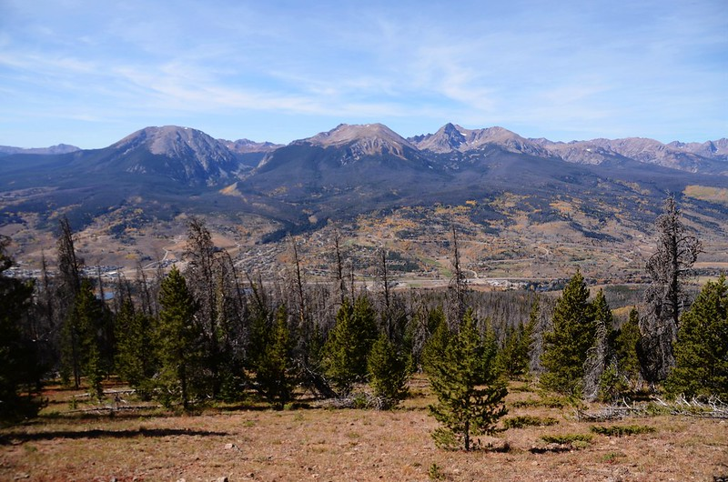 Looking west at Gore Range from Ptarmigan Peak Trail near 10,909 ft  (1)