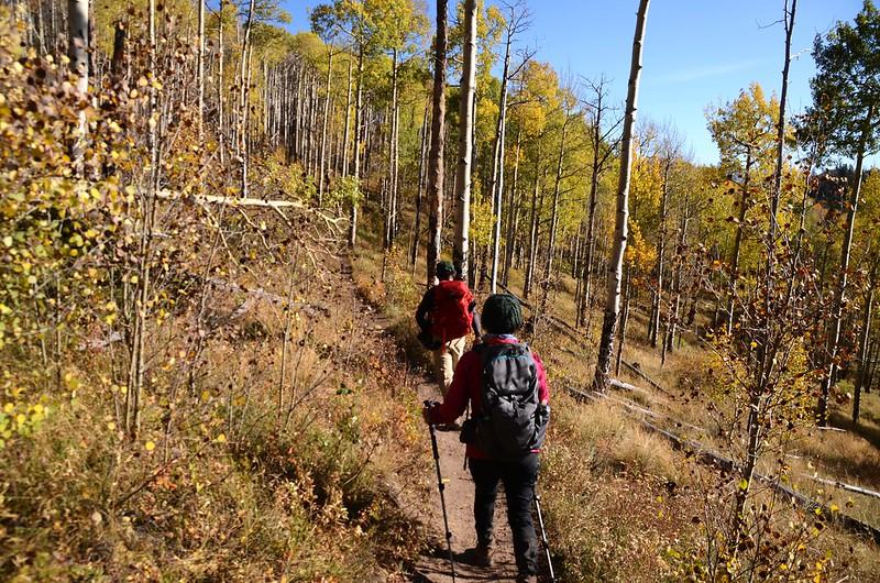 Fall foliage hike at Ptarmigan Peak Trail, Colorado (100)