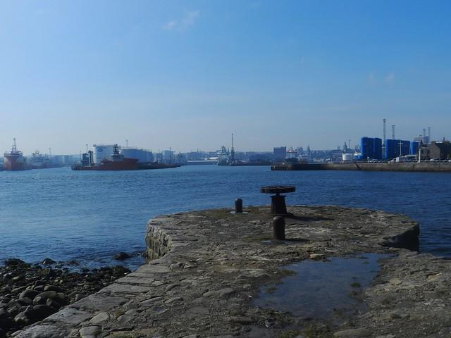Old Pier, Aberdeen Harbour, Apr 2019