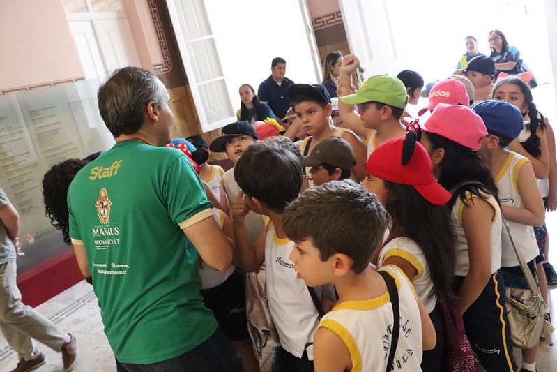08.10.2019 - Visita de estudantes ao Museu da Cidade de Manaus