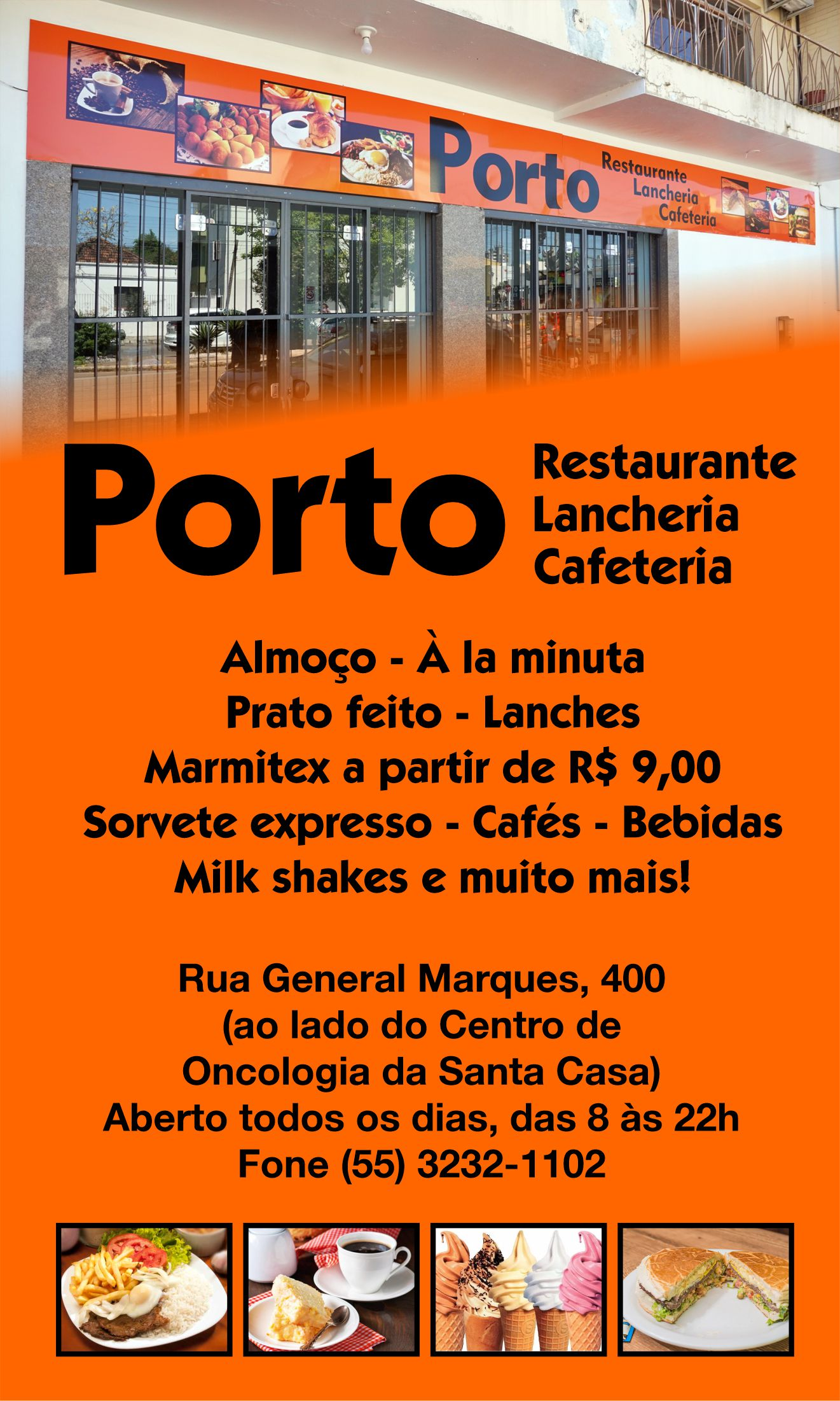 Inauguração da filial Porto Lanches na quinta, 10 de outubro