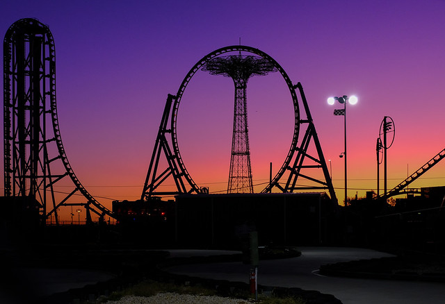 Colorful sunset, Cony Island (1 of 1)