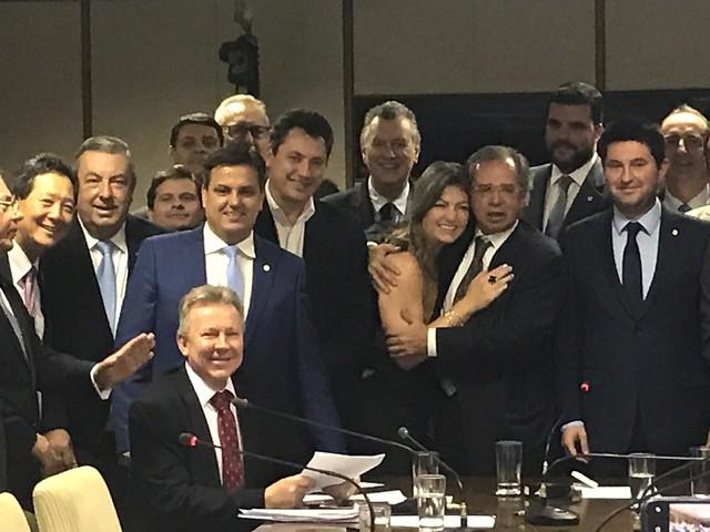 08/10/2019 Audiência no Ministério da Economia