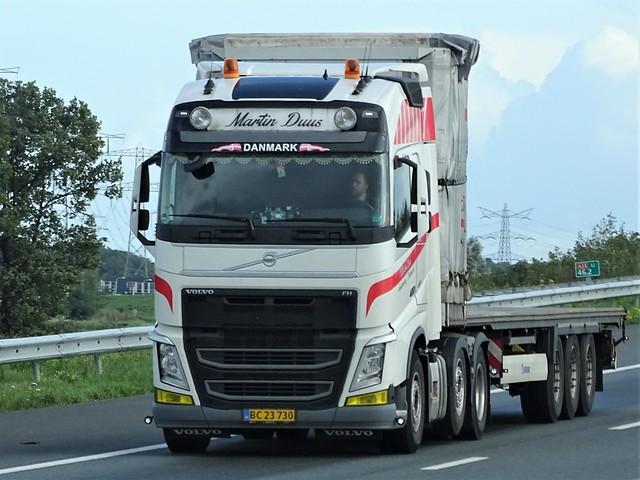 Volvo FH4 globetrotter from Martin Duus Denmark.