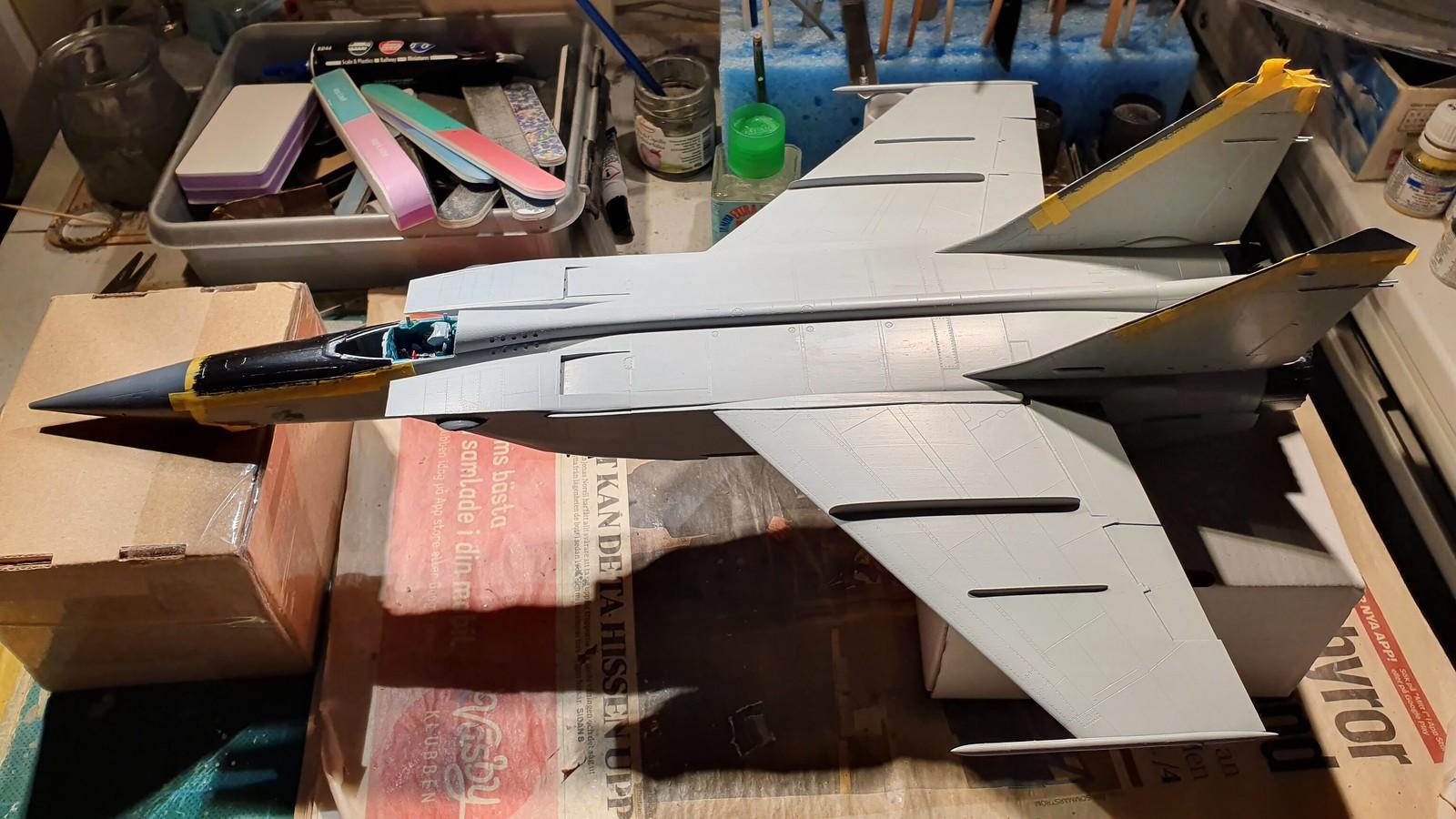 MiG-25BM Iraqi Air Force 1988 - ICM/Revell 1/48 + extra - Sida 6 48866548257_6f3821339b_h