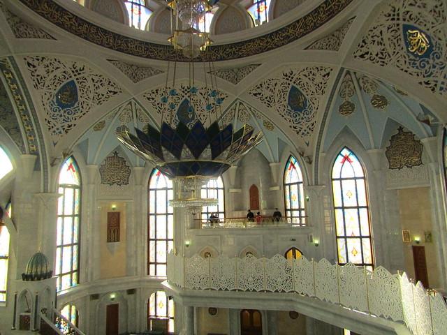 in Kazan mosque