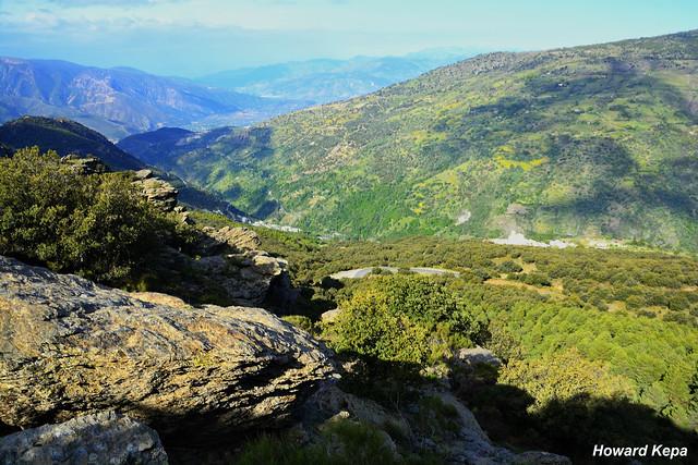 Barranco del Mulhacen.