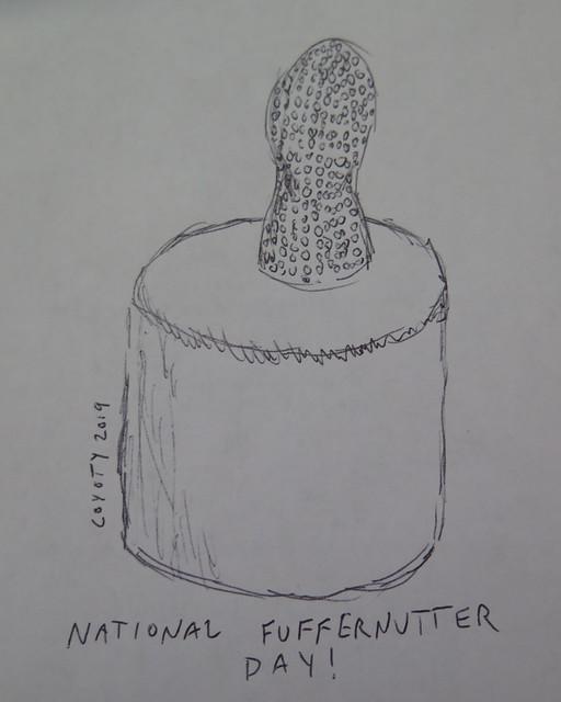Inktober 8, 2019: National Fluffernutter Day