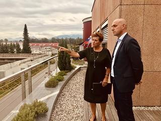 Minister Simon Zajc na delovnem obisku v CČN Domžale – Kamnik
