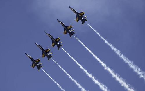 Blue Angels on Line