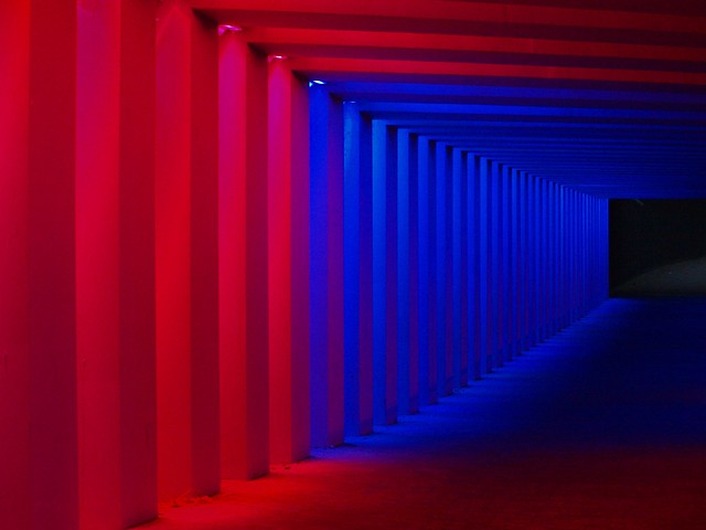 Colors, viaduct in Zutphen, the Netherlands