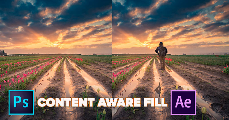 "Conoce la magia de ""Content-Aware Fill"" la increíble herramienta de Adobe para Photoshop y After Effects"