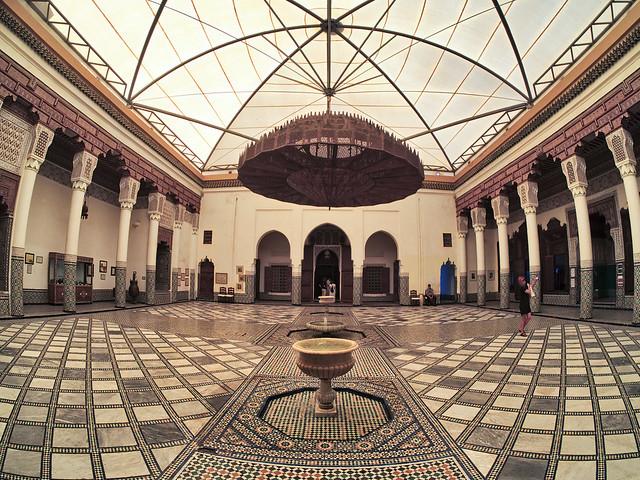 Museum of Marrakech, Fish-eye