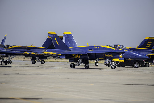 Blue Angel 1 Heads Out
