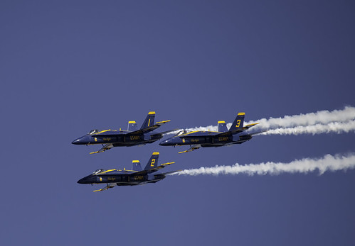 A Trio of Blue Angels