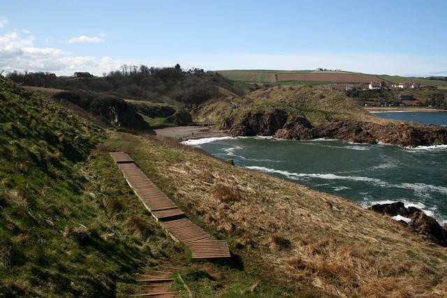 The coast near Coldingham
