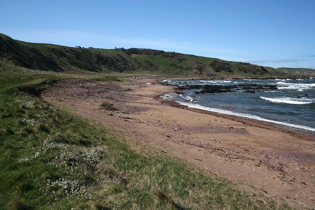 Linkim Shore near Coldingham