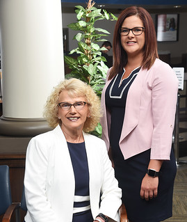 Thu, 08/08/2019 - 08:50 - Encore co-chairs Mary Blevins (seated) and Jenna Holota