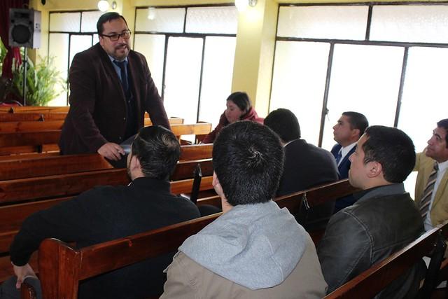 Reunión especial JUMEP en Presidente Bulnes -  Hualpén